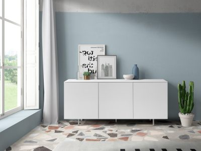 Dupen Dining Rooms, Spain W-132 White Buffet