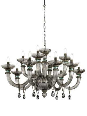 Brands Euroluce Dahlia Collection Dahlia L8+4 grey