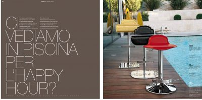 Brands Unico Tables and Chairs, Italy BAR CHAIRS