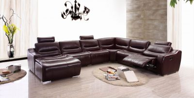 2144 Sectional  w/Recliner