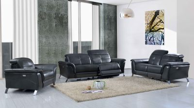 Living Room Furniture Sofas Loveseats and Chairs 2619 with Electric Recliner